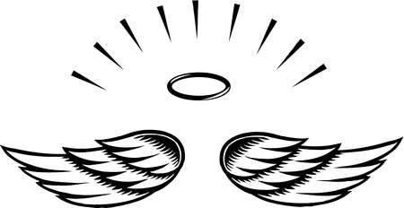 Halo clipart black and white And Black Halo Clipart Halo