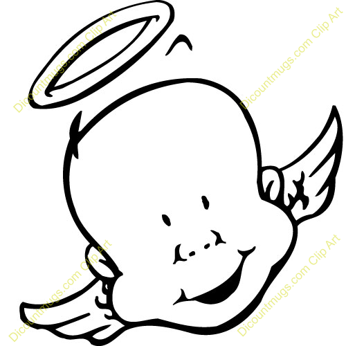 Halo clipart black and white Free Art Clip Images Clipart