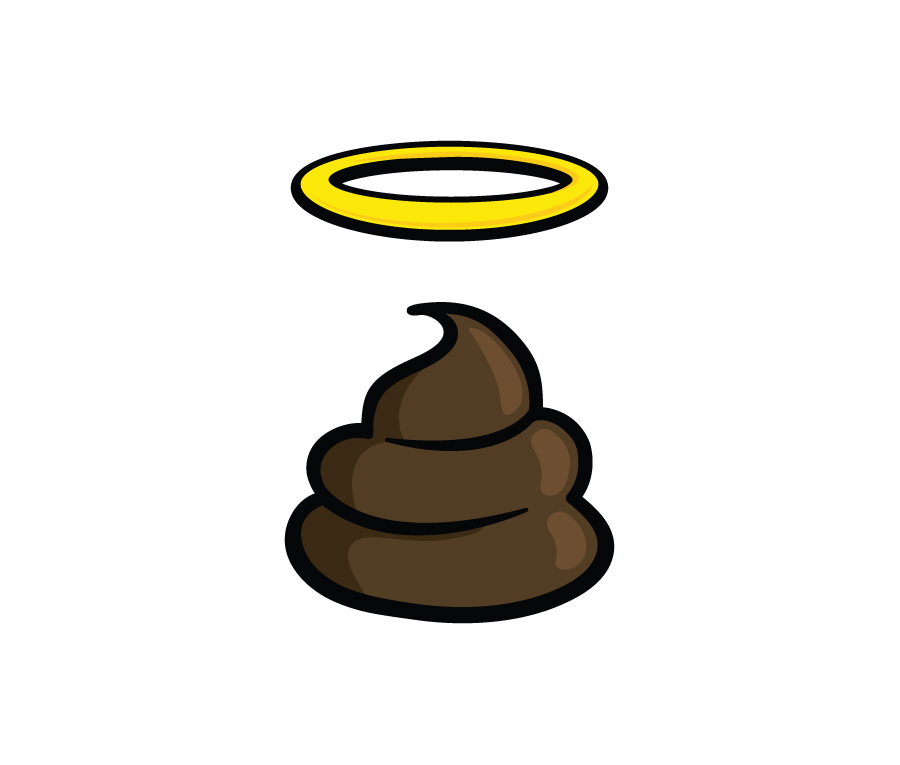 Halo clipart cartoon Clipart Poop poo 3 WikiClipArt