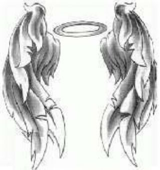 Halo clipart crown Something Tattoo Wings replace Angel