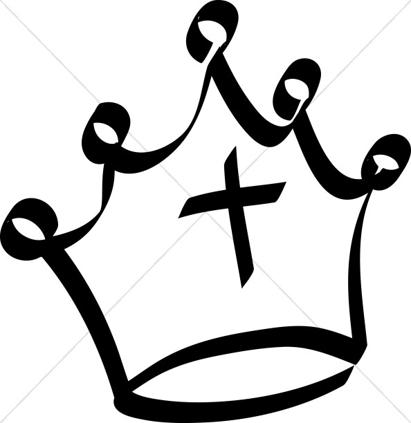 Halo clipart crown Crown Of Clipart Thorns Simple