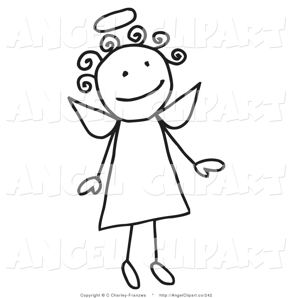 Halo clipart cute Angel Royalty 2 Flying and
