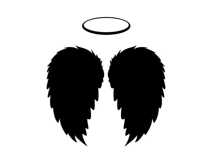 Halo clipart dark angel Wings and JPGs Halo and