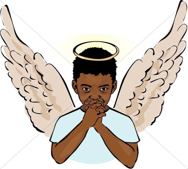 Halo clipart dark angel Angel Halo Sharefaith Clipart Young