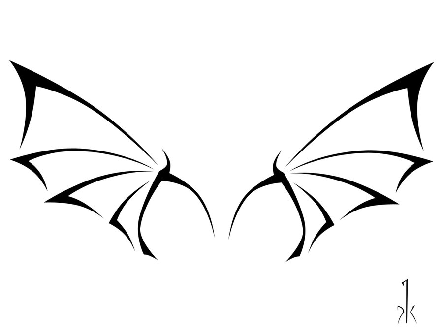 Wings clipart dragon Clip Download tattoo Clip Simple