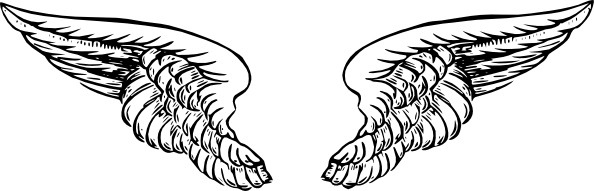 Wings clipart drawn Free Clipart Clip wings