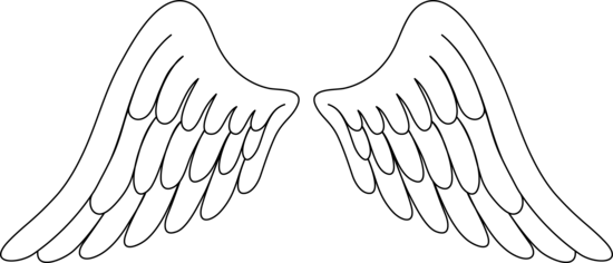 Pair clipart template Clipart Angel Angel Clip Wings