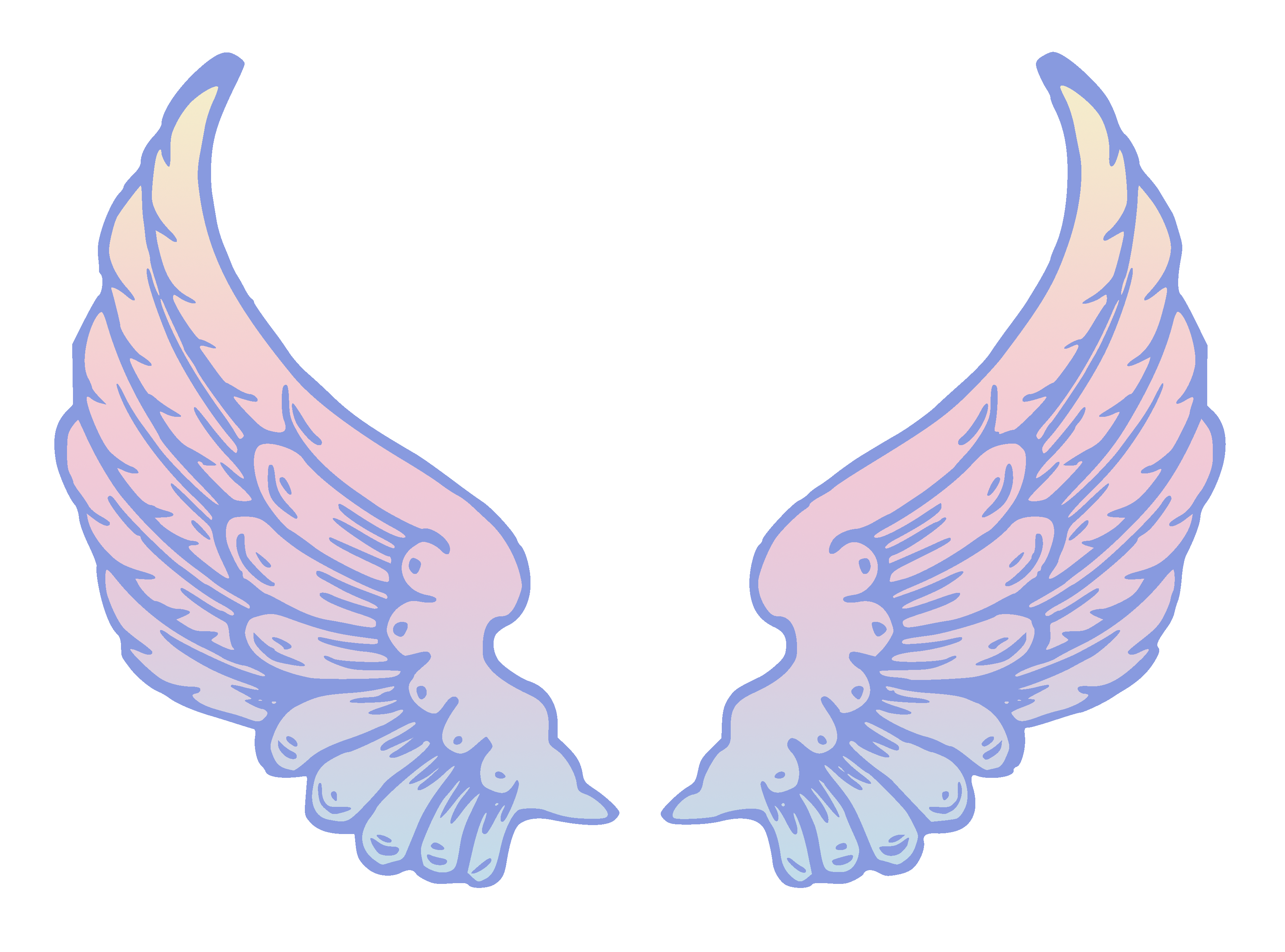 Halo clipart free wing Clipart 3 Clipartix wings clipartputers