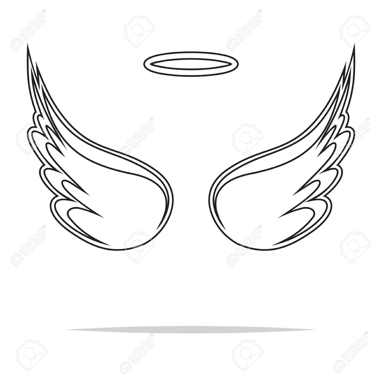 Halo clipart free wing Halo Angel Halo Clipart Free