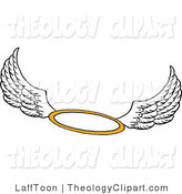 Halo clipart free wing Wings Free LaffToon Theology with