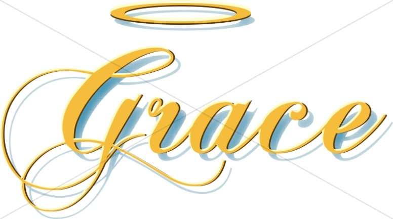 Halo clipart gold Word Script Gold with Halo