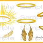 Halo clipart gold Halo Re Design Clipart Clipart