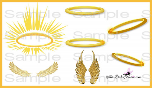 Halo clipart golden Re Gold Graphic Design Halo