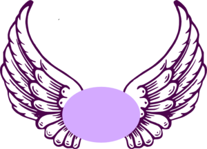 Halo clipart guardian angel Angel clip Clip Violet Wings