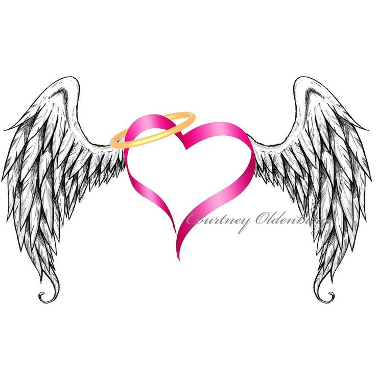 Wings clipart winged heart On of pictures ideas on