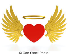 Halo clipart heavenly Red and wings Halo free