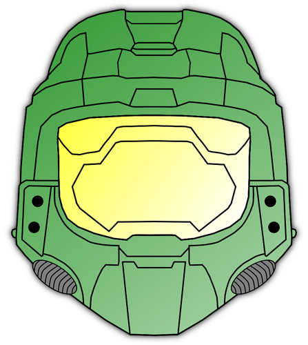 Halo clipart helmet Master by this i… If