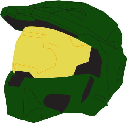 Halo clipart helmet Was vector Bungie Helmet net