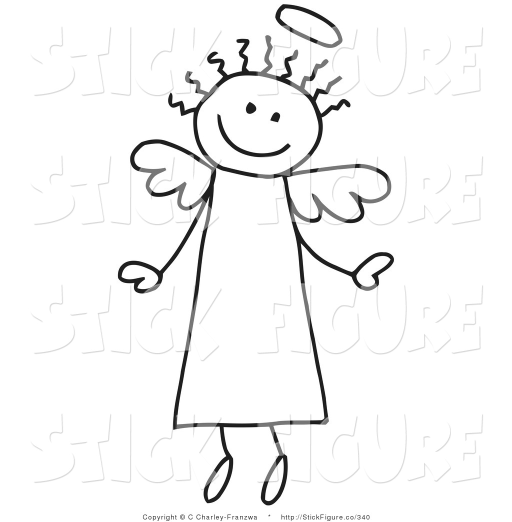 Angel clipart innocence Designs a with Stick Innocent