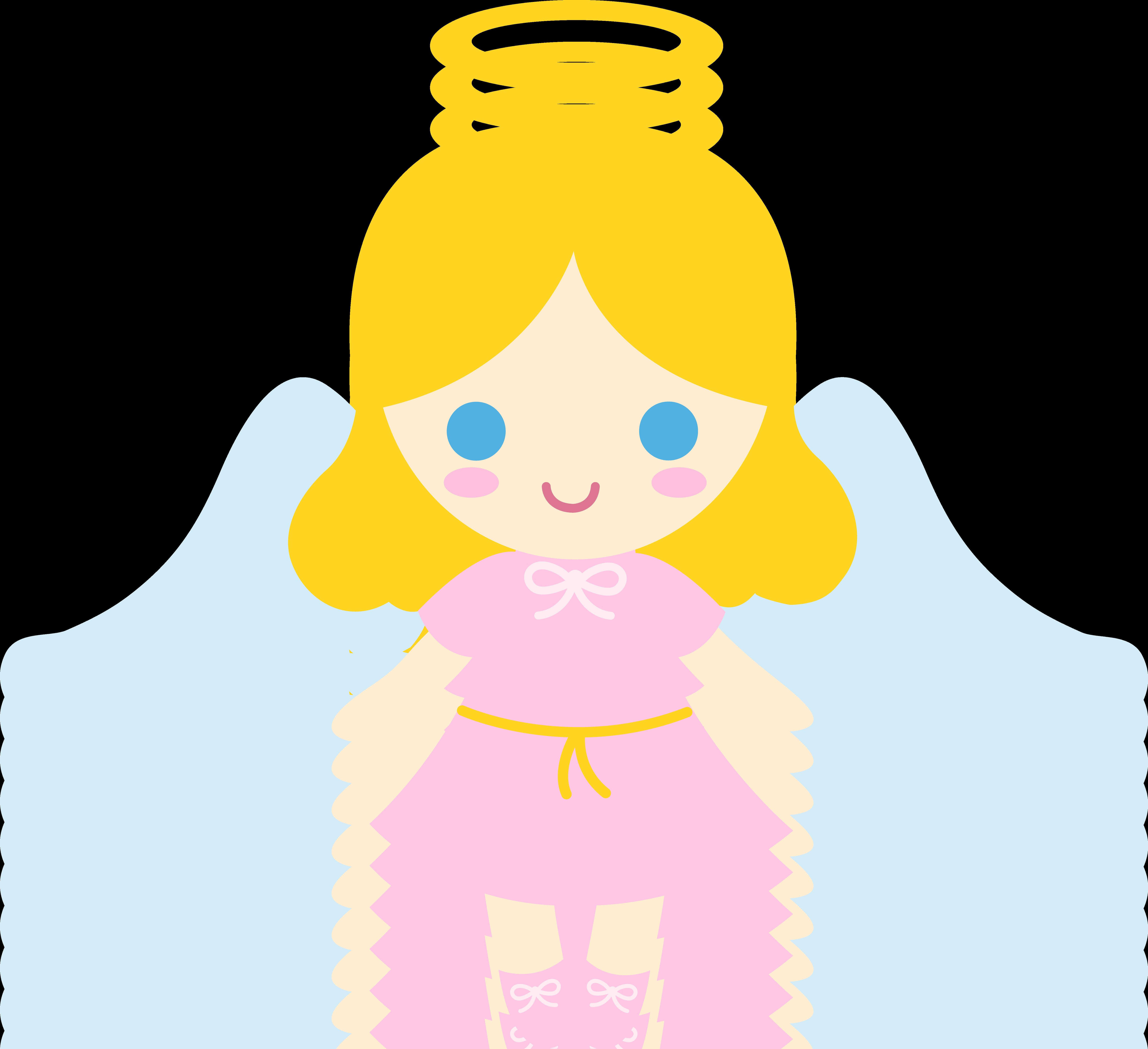 Halo clipart little angel Little Golden Angel Art Angel