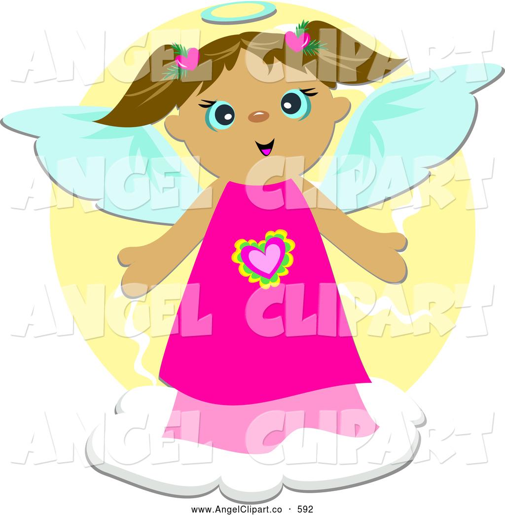 Halo clipart little angel Angel Little