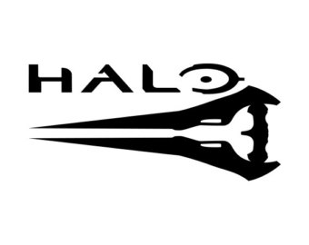 Halo clipart logo Game Halo Cliparts Decals Vinyl