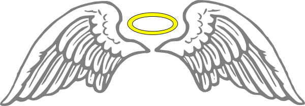 Halo clipart realistic Clipart Bay Angel with Halo