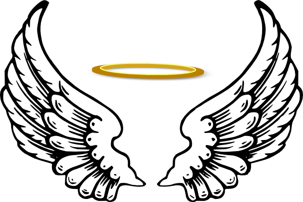 Halo clipart realistic And Clipart Download And Wings