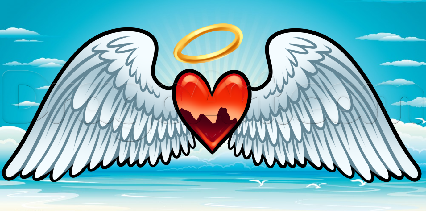 Halo clipart realistic Step Art Angel Free Culture