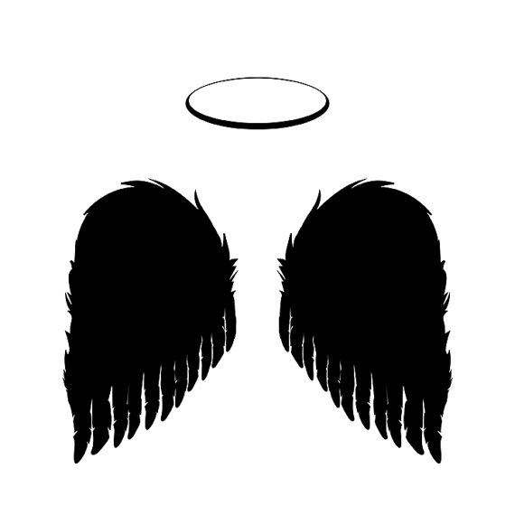 Halo clipart religious Instant ANGEL & Christmas Download