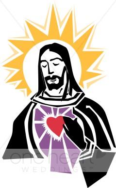 Halo clipart religious Jesus Heart Jesus Gold Clipart