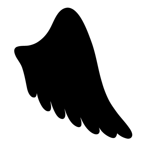 Halo clipart simple wing Angel angel image wing wing