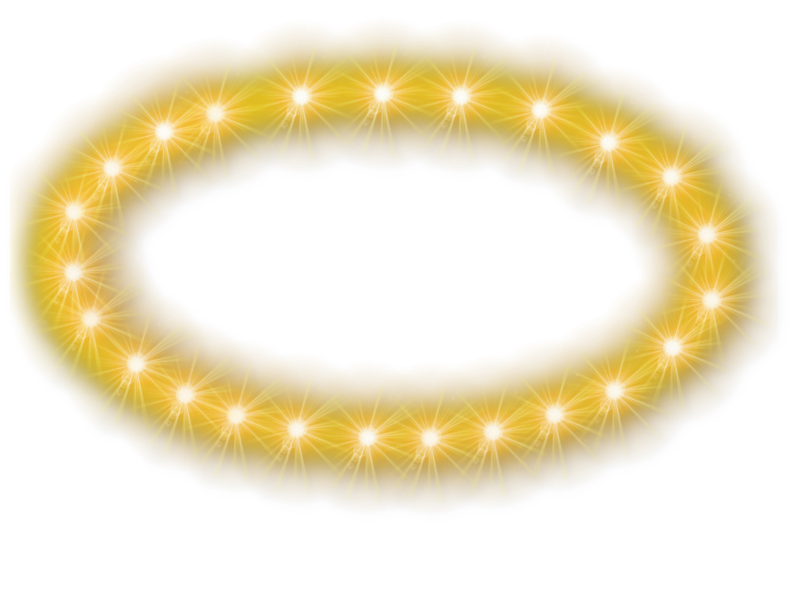 Halo clipart transparent Glowing Transparent PNGMart Images Glowing