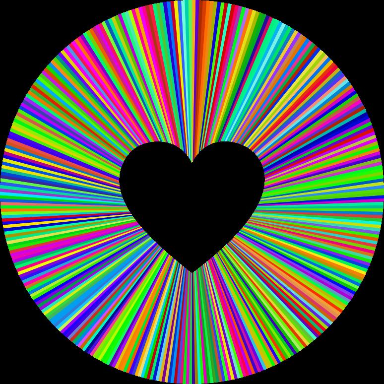 Halo clipart transparent MEDIUM Prismatic Halo (PNG) Heart