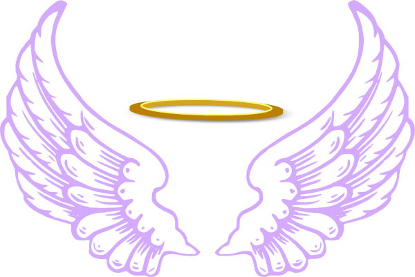 Halo clipart transparent Angel Pinterest Wings Clip Angel