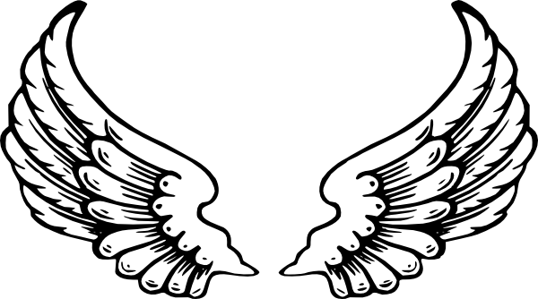 Halo clipart transparent Angel Transparent Mart Wings Background