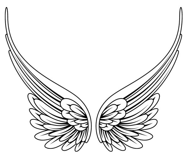 Wings clipart graphic design Ideas Designs Wings Tribal Photos