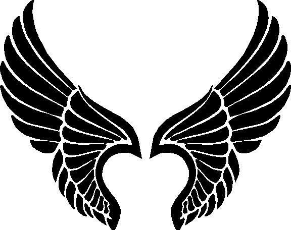 Halo clipart tribal Pinterest best Wings ClipArt Logo