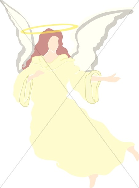 Halo clipart yellow With Angel Clipart Angel Halo