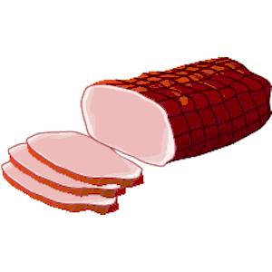 Ham clipart Ham free clipart art 2