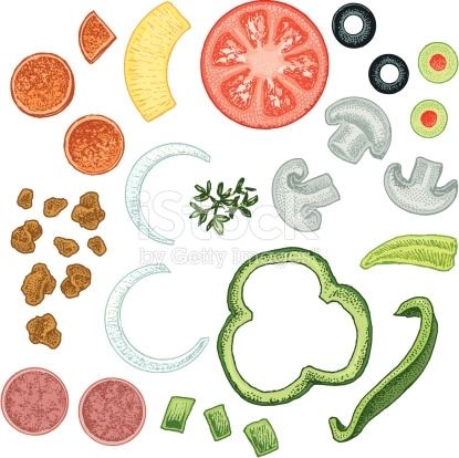 Olive clipart topping Toppings Free toppings art for