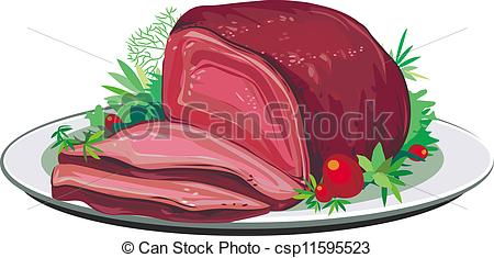 Roast clipart roast pork #1
