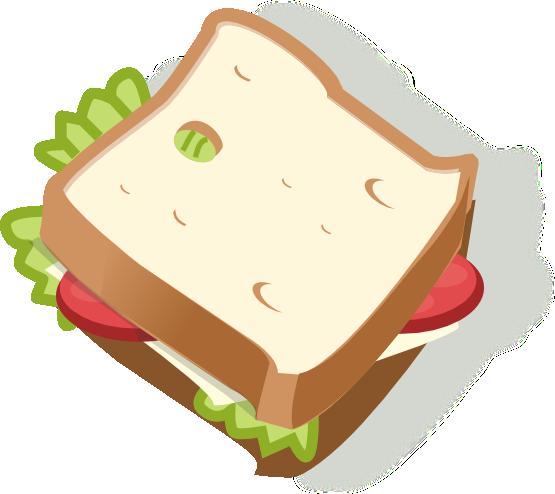 Ham clipart sandwhich Clip to Public Art Delicious