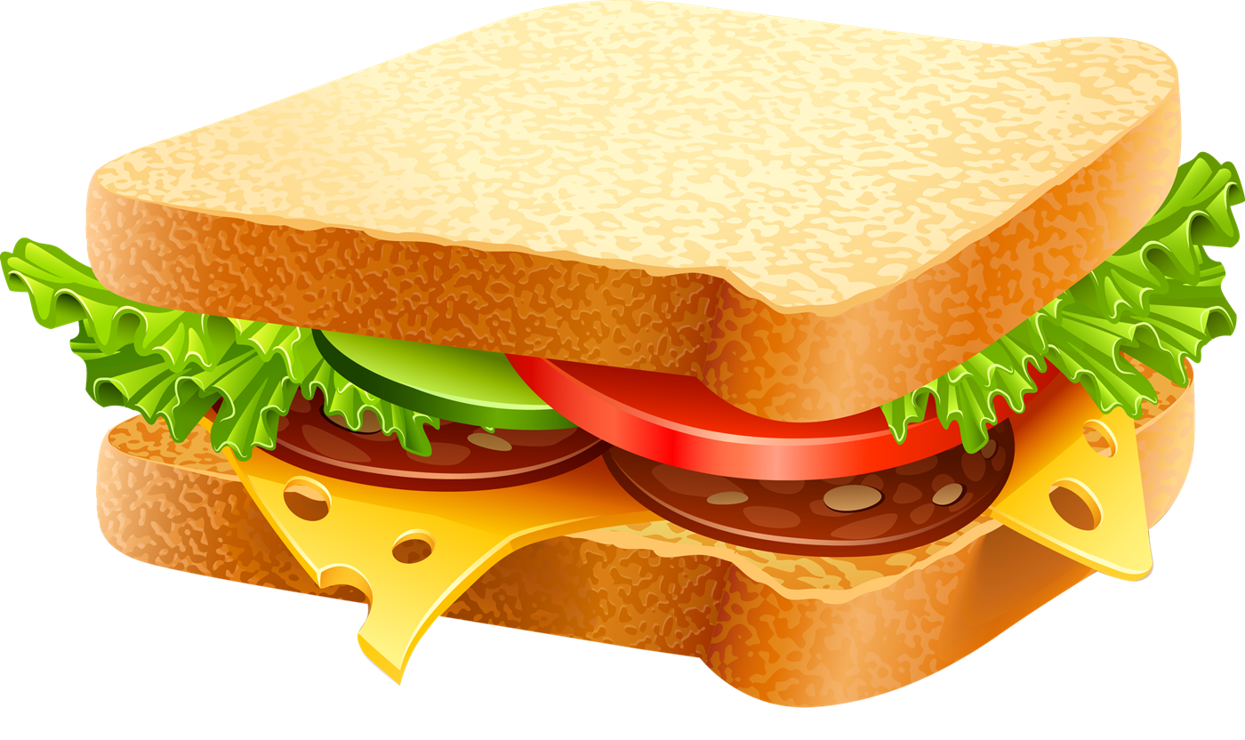 Ham clipart sandwhich Art Use Domain Free Delicious