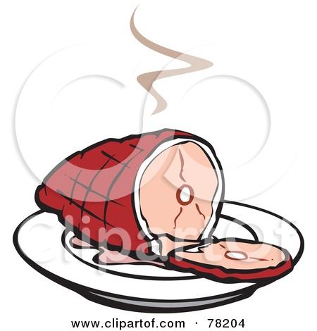Ham clipart xmas Christmas Clipart Ham feast ham