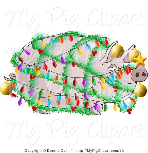 Ham clipart xmas Of Swine Clipart Christmas a