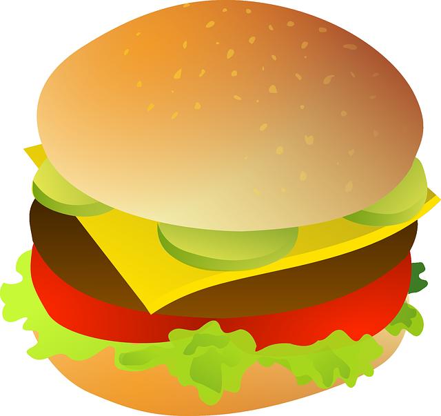 Hamburger clipart Free Hamburger Clip #7530 com