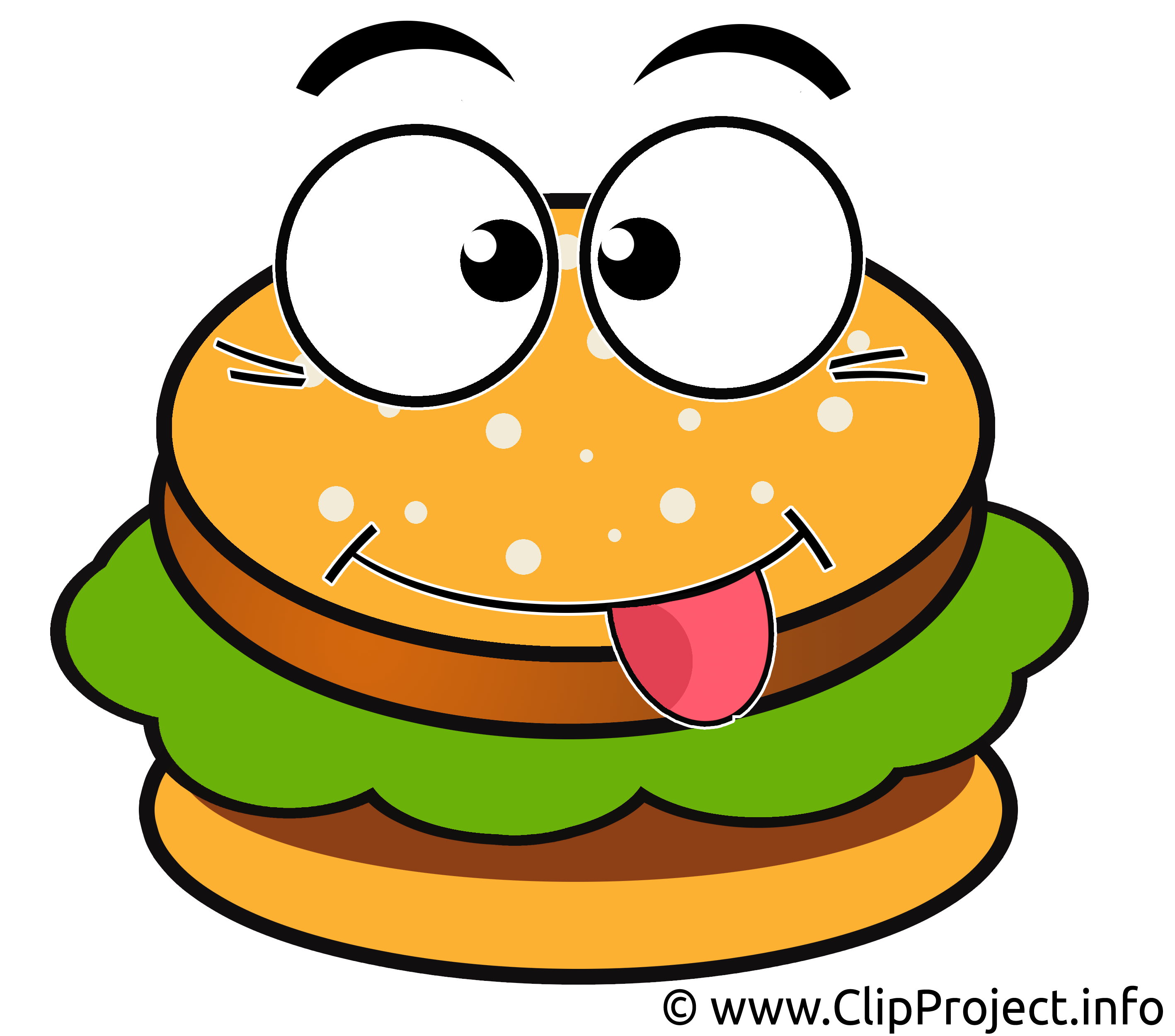 Smiley clipart hamburger Cartoon Hamburger art clipart burger