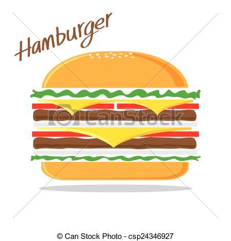 Hamburger clipart abstract Abstract Hamburger The Vector Hamburger