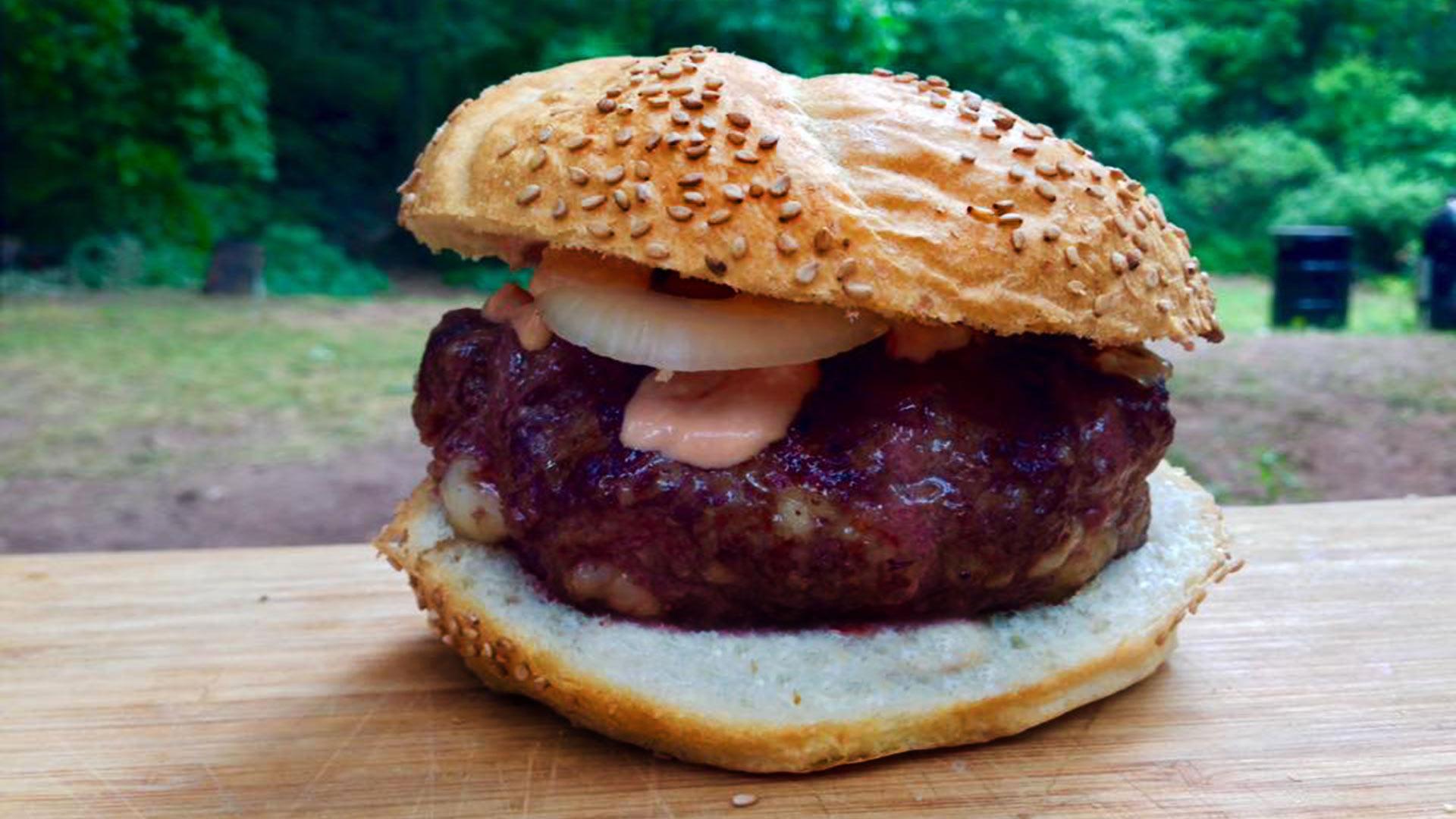 Hamburger clipart beef burger BBQ Boys Pit Archives Shrimp